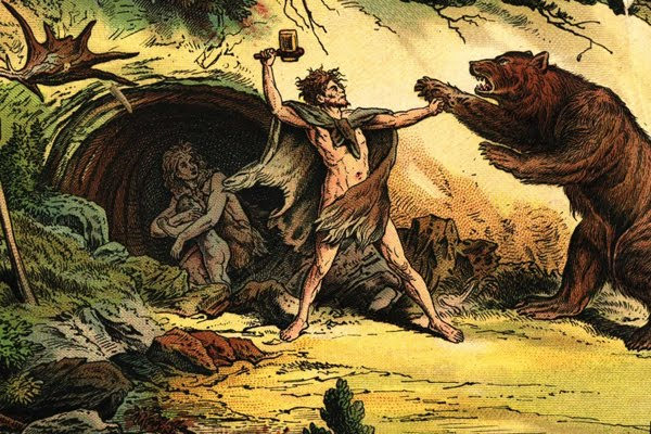 caveman-cave-bear