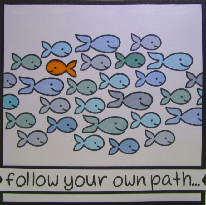 follow own path
