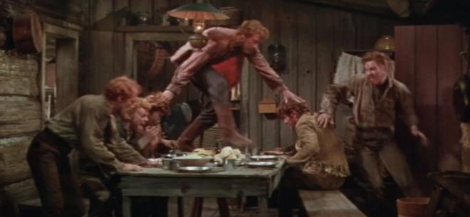 Men eat like pigs