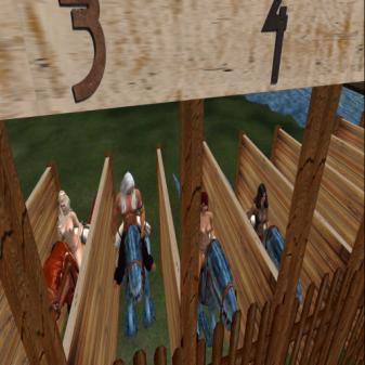 Team Hor at the gates