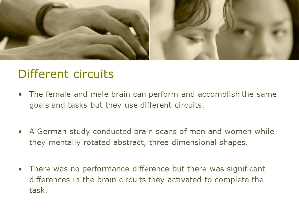 Different+circuits+The+female+and+male+brain+can+perform+and+accomplish+the+same+goals+and+tasks+but+they+use+different+circuits.