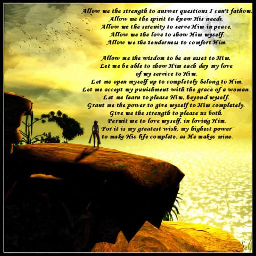 kajira's Prayer