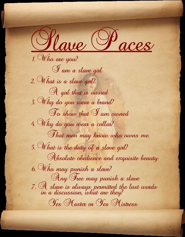slave paces