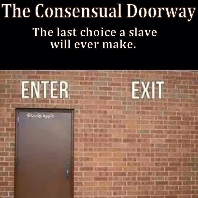 consensual doorway