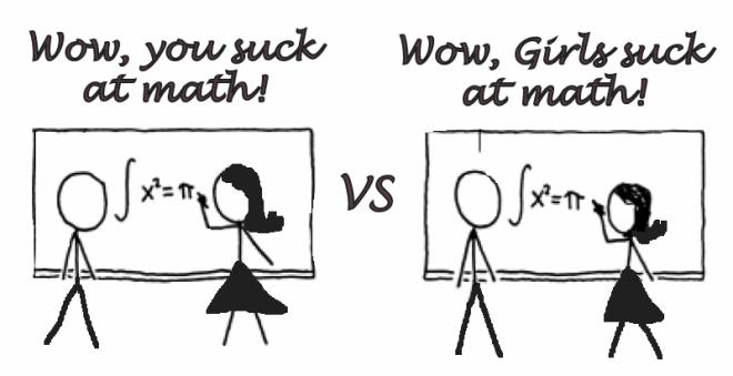 suck at math