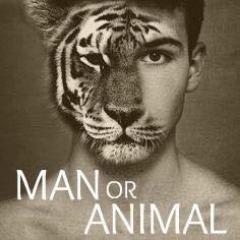 man or animal