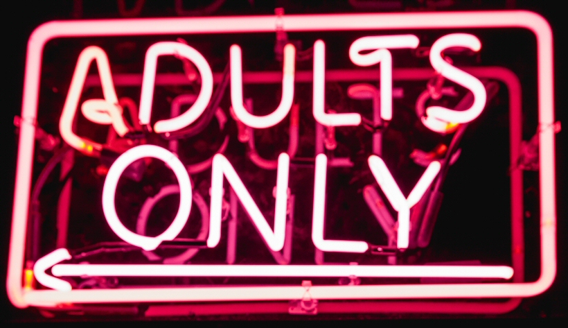 adults only lighted