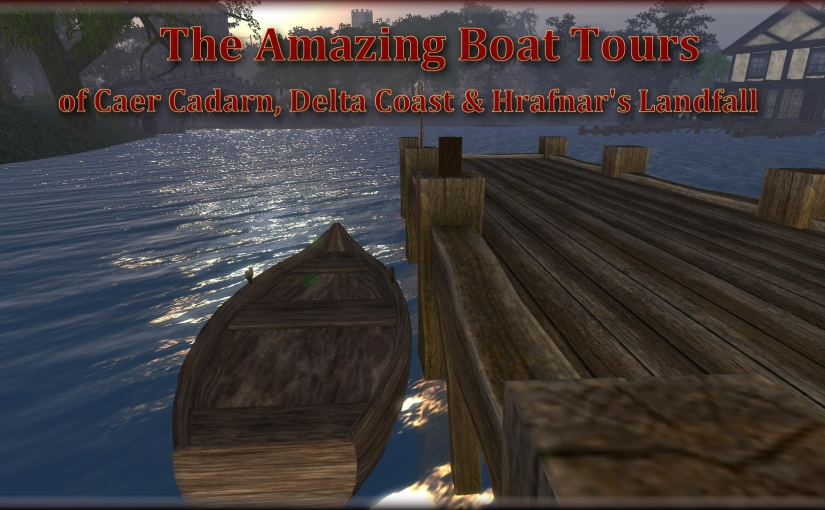 Boat Tours of Caer Cadarn, Delta Coast and Hrafnar's Landfall