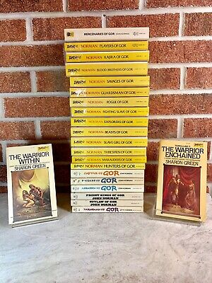 John-Norman-GOR-Series-Lot-Of-20-Paperback
