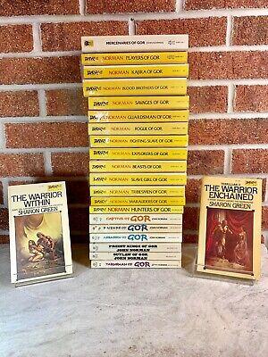 John-Norman-GOR-Series-Lot-Of-20-Paperback